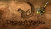 DreamWorks Animation Television Logo (Dinotrux Variant)