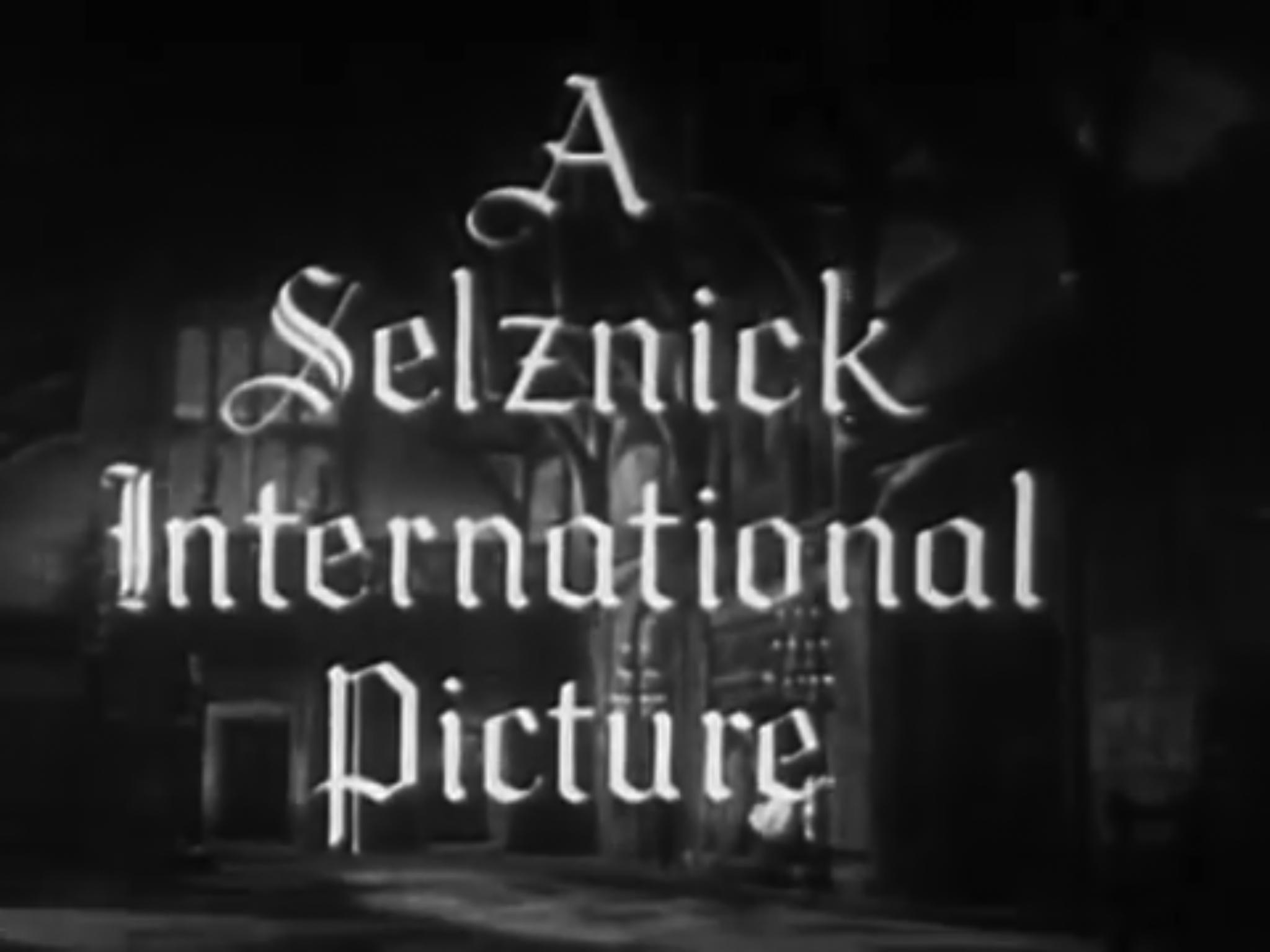 The Selznick Studio