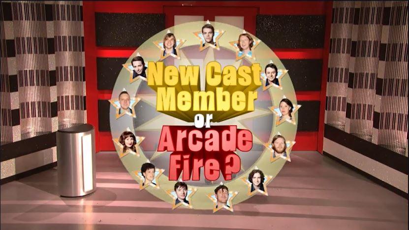 New Cast Member or Arcade Fire?