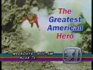 KLAX-TV The Greatest American Hero Promo