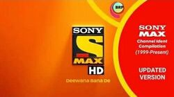 Sony Max Updated Ident History (1999–Present)