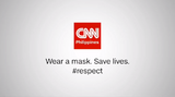 CNN Philippines Wear a mask. Save lives.(2020)