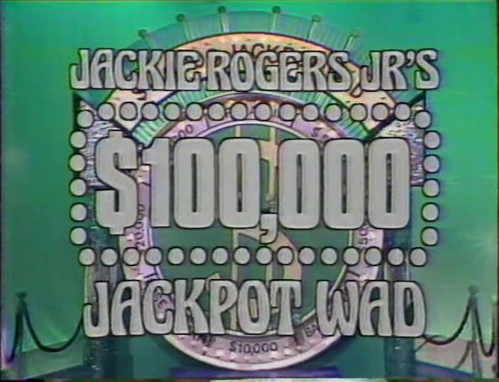 Jackie Rogers Jr.'s $100,000 Jackpot Wad