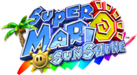 Super Mario Sunshine Europe logo