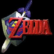 TLOZ Ocarina of Time logo