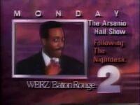 WBRZ 2 Arsenio Hall Show Promo 1989