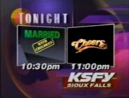 KSFY-TV Promo for Married with Children and Cheers May 2nd, 1992
