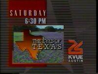 KVUE Eyes of TX 1991 ID