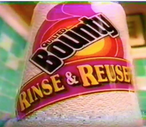 Bounty Rinse & Reuse