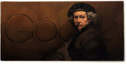 Google Rembrandt van Rijn's 407th Birthday