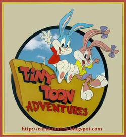Tiny toons logo 1990 with cartoonatics bug.jpg