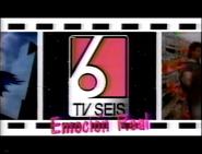 Ident Canal 6 (El Salvador) - 1993 Slogan
