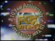WFTX 10th Anniversary ID 1995