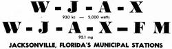 WJAX FM Jacksonville 1951.png