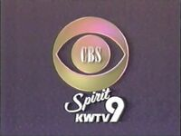 CBS Get Ready KWTV 1989 90 ID