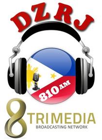 8TriMedia on DZRJ 810 AM Logo.png
