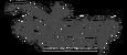 Disney Channel Philippines Wordmark Grayscale Logo 2014