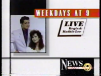 WTVC Live! With Regis and Kathie Lee Promo (1992)