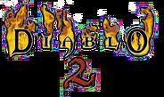 Diablo II first draft logo
