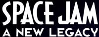 Space Jam A New Legacy horizontal print logo without rings