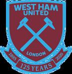 West Ham United FC logo (125 Years)