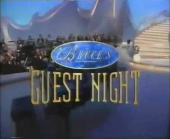 Bruce's Guest Night