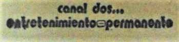 Canal 2 (El Salvador)/Genres and Slogan