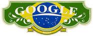 Google Brazilian Independence Day