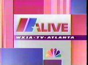 WXIA 1991 ID