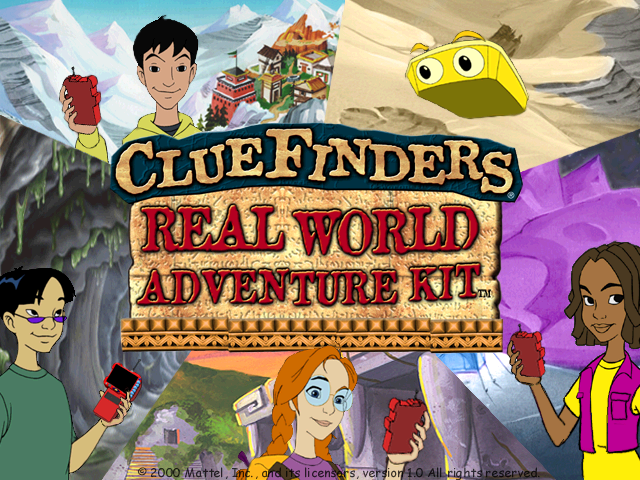 ClueFinders Real World Adventure Kit