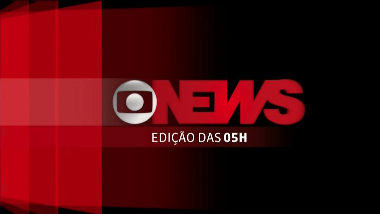Jornal GloboNews - Edição das 05h