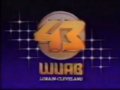 WUAB Channel 43 1987