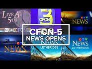 CFCN-DT-5 (CTV Lethbridge) News Opens