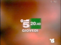 Canale 5 - white and green 1994