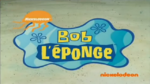 SpongeBob French Titlecard 1