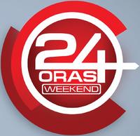 24 Oras Weekend Alternate Logo (2014)