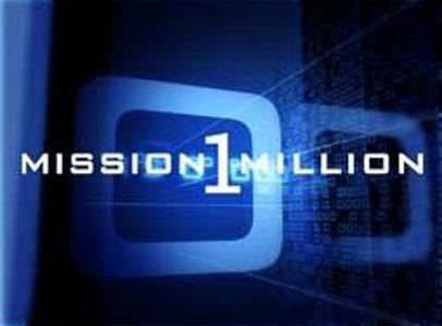 Mission: 1 million