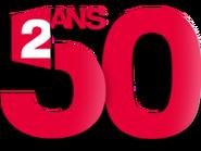 France 2 50 ans logo