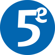 Le cinquieme 1999 logo.png