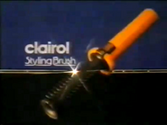 Clairol Styling Brush AS TVC 1980