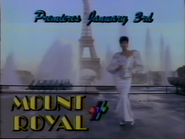 4TV promo Mount Royal 1987 2