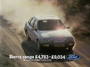 Ford Sierra AS TVC 1982
