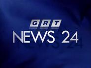 GRT News 24 ident 1995