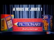 Taboo Pictionary Jenga RL TVC 1998