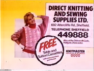 Direct Knitting and Sewing Supplies AS TVC 1985