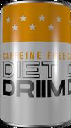 Caffeine-Free Diet Driim Can 1972