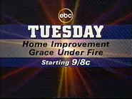 EBC promo - Home Improvement - Grace Under Fire - 1994