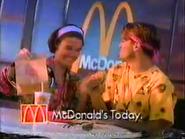 McDonald's URA Extra Value Meal TVC 1991 - Part 2
