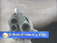 Canal 1 da TN promo - O Bom O Mau e o Vilao - 1991