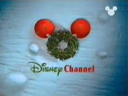 Disney Channel ID - Christmas Wreath (1999)